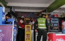 La Secretaría del Interior ha venido ejerciendo controles para el funcionamiento de las tiendas en Cartagena.