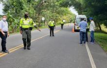 La Policía de Córdoba es la encargada de vigilar las medidas contra el COVID.