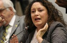 """Angélica Lozano se disculpa tras explícita """"catarsis"""" en sesiones de Congreso"""