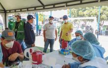 Alcaldía asegura que en los cercos epidemiológicos del suroriente bajaron en 21% los casos activos.