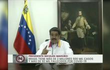 Maduro pide a Colombia y Brasil cooperar para tratar la COVID-19 en fronteras