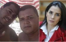 Jorge Díaz Collazos alias 'Castor', Digno Palomino y Aida Merlano.