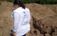 Recuperan restos humanos hallados en El Copey, Cesar