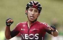 Egan Bernal, que toma el relevo del español Alejandro Valverde, que se impuso en la Ruta de Occitania 2019.