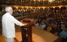 Cartagena deplora muerte de Eusebio Leal, guardián del patrimonio cubano