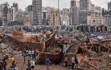 Una gran explosión asola Beirut con decenas de muertos y miles de heridos