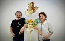 'Volare', la exposición que ahora anida en la Galería de la Aduana