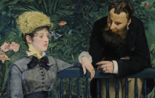 Detalle de un cuadro de Édouard Manet en Google Arts & Culture.