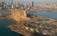 Rescatistas continúan búsqueda de cuerpos en el puerto de Beirut