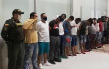 Policía desmantela billar clandestino en Santo Domingo de Guzmán