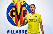El volante Dani Parejo llega al Villarreal procedente del Valencia.
