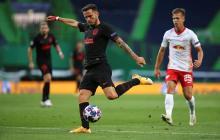 Saúl Ñíguez ejerció la autocrítica y reconoció la superioridad futbolística que mostró el rival.