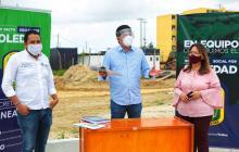 Anuncian construcción de megacolegio en Soledad