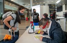 Bogotá-Cartagena, una de las rutas piloto de reapertura de El Dorado