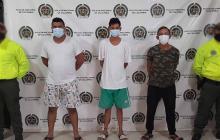 Caen tres presuntos integrantes del Clan del Golfo en Guamal, Magdalena