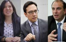 Myriam Ramírez, Luis Andrés Fajardo y Carlos Camargo.