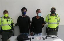 Rodrigo José Gómez Ávila y Luis Eduardo Vergara, capturados.