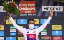 El colombiano Daniel Martínez, campeón del Dauphiné
