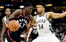 En el último juego los Raptors se impusieron 114-106 a los Bucks, líderes de la Conferencia Este.