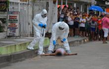 De siete tiros matan a un hombre el barrio San Vicente de Soledad