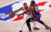 Portland y Lakers es una de las series más disputadas de los Playoffs 2020.