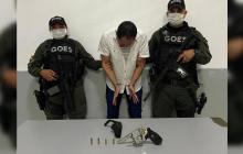 Capturan a un hombre armado en el barrio El Bosque