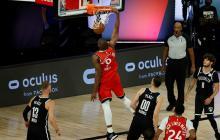 Raptors y Celtics barren series; Mavericks, la empatan; Jazz toman ventaja