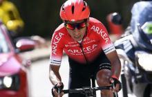 Nairo Quintana, líder del Arkea en el Tour de Francia 2020.