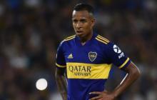 Sebastián Villa, jugador de Boca Juniors, llegó en 2018 al cuadro argentino.