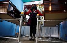 Familiares despiden a víctimas de matanza en El Tambo con pedidos de justicia