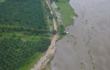 Plantean a Mintransporte tres obras para frenar erosión en vía de Salamina