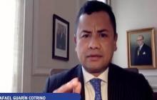 Rafael Guarín, consejero presidencial para la Seguridad Nacional.