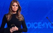 Melania Trump suaviza el agresivo discurso republicano y llama a la unidad