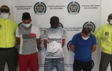 Desarticulan banda dedicada al robo de redes en el sur del Atlántico