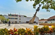 Posible hallazgo arqueológico en la Alcaldía de Valledupar