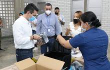 Montería recibe ventiladores no invasivos de parte de Emiratos Árabes