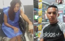La víctima señala a Said Nieto como responsable.