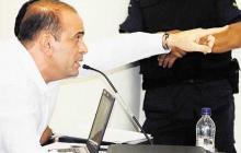 Salvatore Mancuso, ex jefe de las AUC, en una de las audiencias realizadas en los procesos de justicia y paz.