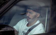 Luis Suárez se presentó a realizarse los test con el FC Barcelona.