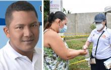 Genor Bolaño Padilla es el nuevo alcalde de San Zenón