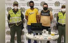 Policía captura a tres por hurto a una casa en Puerto Colombia