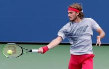 Tsitsipas se queja del uso de las toallas en el US Open