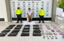 Capturan a presunto mayorista del microtráfico en Valledupar