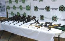 En video   'Los Pachencas' habrían robado armas y dotación militar