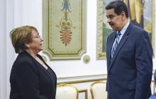 Bachelet se congratula del indulto de Maduro a opositores en Venezuela