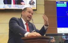 Lidio García, expresidente del Senado.