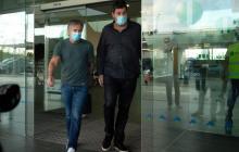 Jorge Messi, padre del delantero argentino, está en Barcelona.