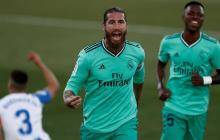 Sergio Ramos, capitán del Real Madrid, se refirió al tema de la posible salida de Lionel Messi.