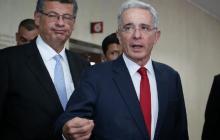 Defensa de Uribe pide su libertad inmediata a la Fiscalía