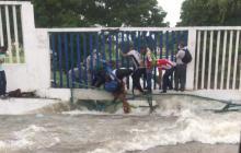 En video   Emergencias en Barranquilla por aguacero de este viernes